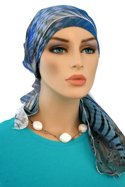 おしゃれなスカーフ キャップ 抗癌剤帽子