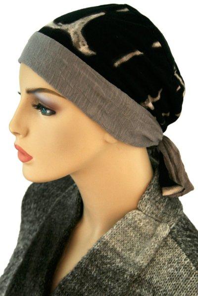 S170  スカーフキャップ 医療用帽子 ケア帽子