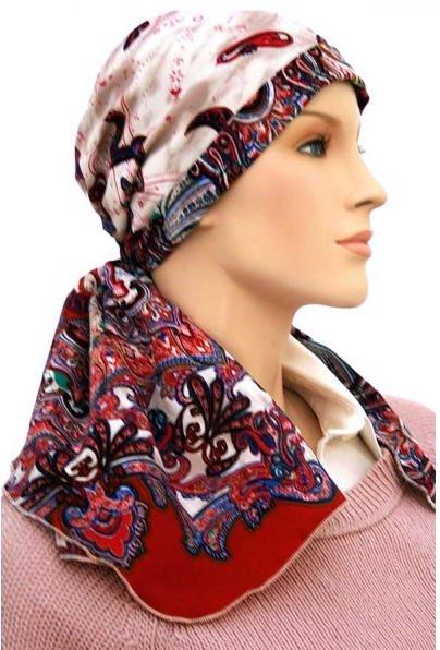 S324 医療用帽子 ケア帽子 抗がん剤治療帽子 医療用帽子 リボン付き