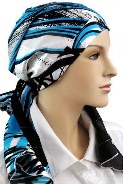 S019 医療用帽子 ケア帽子 抗がん剤治療帽子 医療用帽子 リボン付き