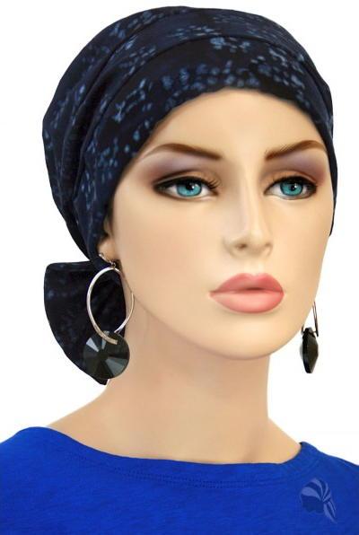 s335 医療用帽子 ケア帽子 抗がん剤治療帽子 医療用帽子 リボン付き