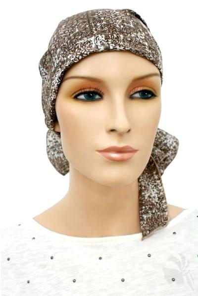 S353 医療用帽子 ケア帽子 抗がん剤治療帽子 医療用帽子 リボン付き