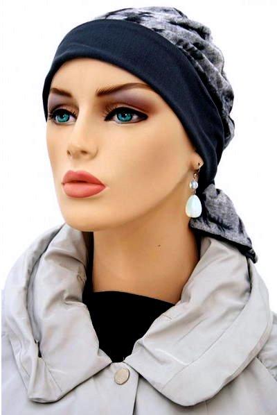 S356 医療用帽子 ケア帽子 抗がん剤治療帽子 医療用帽子 リボン付き