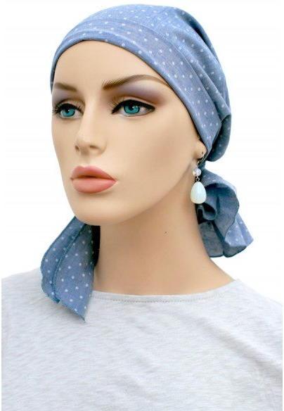 S325 医療用帽子 ケア帽子 抗がん剤治療帽子 医療用帽子 リボン付き