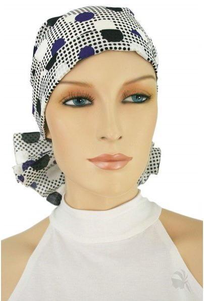S328 医療用帽子 ケア帽子 抗がん剤治療帽子 医療用帽子 リボン付き