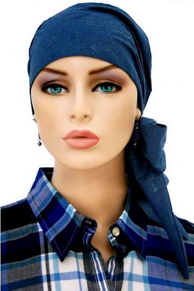 S338 医療用帽子 ケア帽子 抗がん剤治療帽子 医療用帽子 リボン付き
