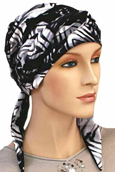 S345 医療用帽子 ケア帽子 抗がん剤治療帽子 医療用帽子 リボン付き