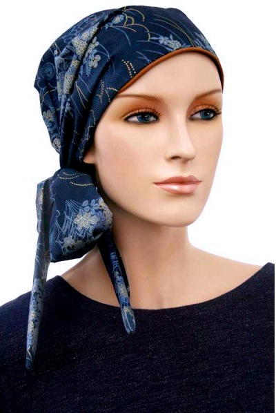 S361 医療用帽子 ケア帽子 抗がん剤治療帽子 医療用帽子 リボン付き