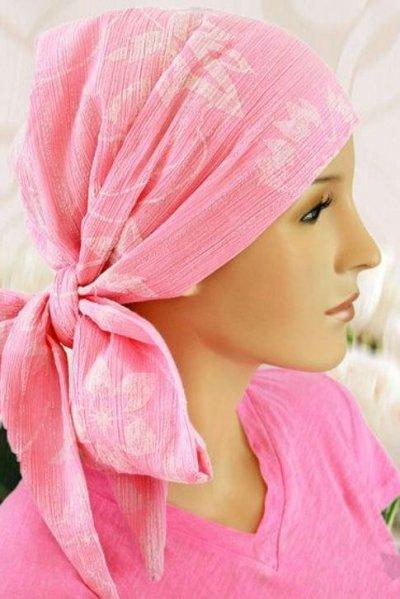 S362  医療用帽子 ケア帽子 抗がん剤治療帽子 医療用帽子 リボン付き