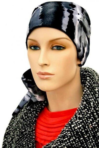 S364 医療用帽子 ケア帽子 抗がん剤治療帽子 医療用帽子 リボン付き